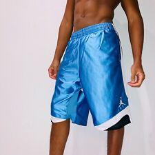 Super Rare Jordan Nike Basketball Dazzle Shorts Sexy Blue Black White Small