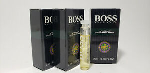 New Boss by Hugo Boss sport After Shave 2 ml / 0.06 fl oz vial
