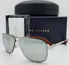 Polo Ralph Lauren Pilot sunglasses RL7055 90306G 64 Black Dark Grey AUTHENTIC