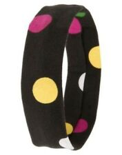 GYMBOREE MERRY & BRIGHT DARK GRAY  COLOR DOT SOFT HEADBAND NWT-OT