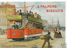 Robert Opie Advertising Postcard - Huntley & Palmers Biscuits     BT761