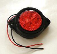 1 x 12v RED LED REAR TAIL MARKER LIGHT INDICATOR LAMP TRAILER CAMPER VAN BUS