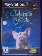 PS2 LA TELARAÑA DE CARLOTA PAL ESPAÑA PLAYSTATION 2 (4X)