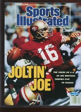 Joe Montana Autographed Photo / Sports Illustrated Cover Upper Deck