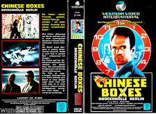 """VHS - """" Chinese BOXES - Drogenhölle Berlin """" (1984) - Will Patton"""
