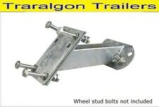 Spare wheel carrier galvanised galvanized caravan boat trailer holden ford G242