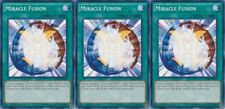 Miracle Fusion - SDHS-EN024 - Common - 1st Edition X 3 MINT YU-GI-OH! English