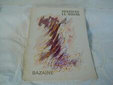 DERRIERE LE MIROIR N° 170 MARS 1968 - BAZAINE
