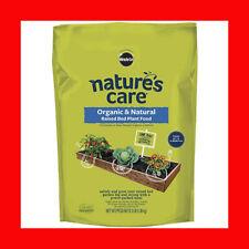 Nature's Care Organic Plant Food 3 lbs 10-2-8 Fertilizer Raised Bed Frui Veg Flo
