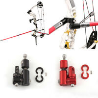 Archery Single Side V-Bar Adjustable Quick Disconnect Mount Bow Rod Stabilizer Y