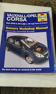 Haynes Manual Vauxhall Opel Corsa Petrol Diesel 2006-2010 4886 NEW