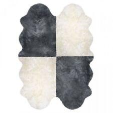 Fellteppich 4-fach aus Lammfell Lammfelle ca. 185 × 125 cm