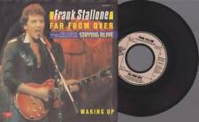 "FRANK STALLONE Far From Over Waking Up 7"" Vinyl Staying Alive Soundtrack"