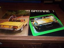 1975 Triumph Spitfire Sales Catalog
