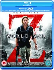 World War Z 2D / 3D NEW BLU-RAY (BSP2527)
