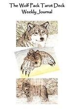 Wolf Pack Tarot Reading Journal 52 Week Log Booklet