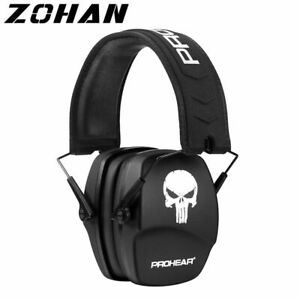 Electronic Safety Headphones Noise Reduction Shooting Hunting Shooter Protection