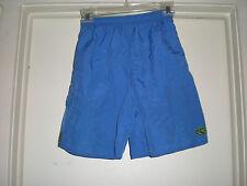 Boy's Athletech Bathing Trunks size 10-12 Blue Brown Lime Green