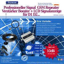 1500m2 GSM 900MHz Repeater Handy Verstärker Booster Omni +10dBi Antenne T-Mobile