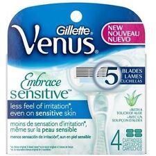 Gillette Venus Embrace Sensitive 4 x Cartridges...new & boxed