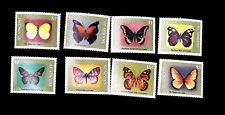 St. Vincent  1987 Butterflies  Scott# 1246-1253