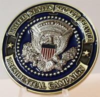 US Secret Service 2020 Presidential Campaign Donald Trump Biden Challenge Coin