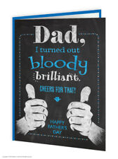 Funny Fathers Day Card Witty Comedy Humour Novelty Cheeky Joke Dad Daddy Father