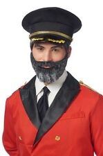 Costume Culture Captain Obvious Adult Mens Halloween Moustache and Beard 23112