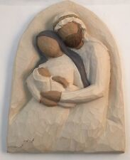WILLOW TREE/Demdaco PLAQUE - THE HOLY FAMILY -A Child Is Born.
