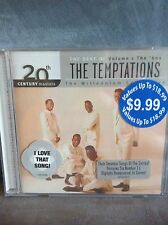 THE BEST OF THE TEMPTATIONS MUSIC CD (VOLUME 1 THE 60S) - BRAND NEW AND SEALED