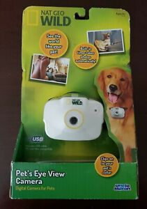 """NAT GEO WILD / UNCLE MILTON """"PETS EYE VIEW CAMERA"""" BRAND NEW & FACTORY SEALED"""