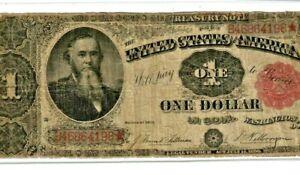 "$1 ""1891"" (STANTON NOTE) ""UNITED STATES OF AMERICA"" RARE!! (STANTON) 1891 RARE!!"