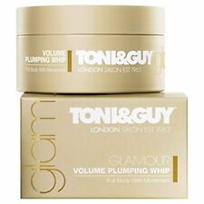 TONI&GUY Glamour Volume Plumping Hair Whip 1x90ml Full Body with Movement NEW