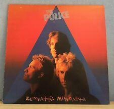 THE POLICE Zenyatta Mondatta 1980 UK vinyl  LP + INNER EXCELLENT CONDITION    F