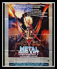 Heavy Metal Movie Poster Original Ebay