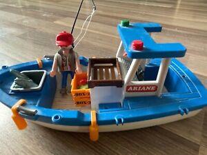 Playmobil Fischkutter und Fischer