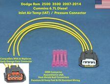 IAT Air Temp Pressure Connector Plug Repair Pigtail RAM Cummins 2500 3500 6.7L