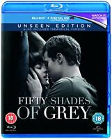 Fifty Shades of Grey: The Unseen Edition [Blu-ray] [2015] [DVD][Region 2]