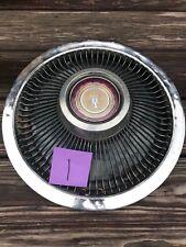 "1968-1973 Ford LTD 15"" Turbine Hubcap OEM Hollander #647 #1"