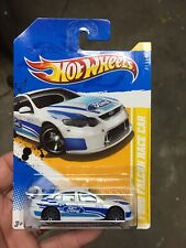 2012 HOTWHEELS FORD FALCON RACE CAR WHITE - BRAND NEW