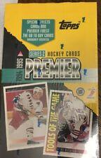 1994-95 TOPPS PREMIER HOCKEY SERIES 2 FACTORY WAX BOX