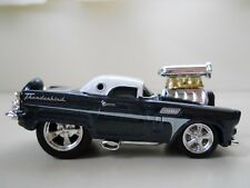 MUSCLE MACHINES - (1956) '56 FORD THUNDERBIRD - SUPERCHARGED 1/64 (LOOSE)