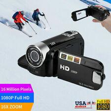 Camcorder Digital Video Camera 1080P HD TFT LCD 16MP LED Vision 16x Zoom DV USA