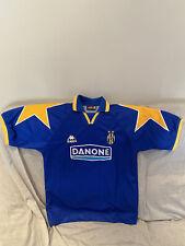 Rarissima maglia da calcio Juventus Robe di Kappa Danone 1994-95 Tg L collezione