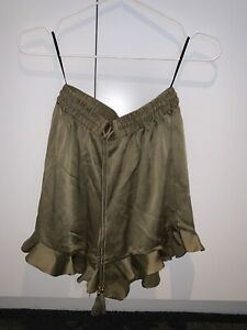 Zimmerman Sueded Flutter Shorts Size 0