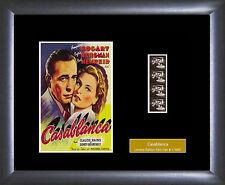 Humphrey Bogart memorabilia : Casablanca - Film Cell - Numbered Limited Edition