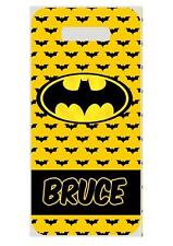 BATMAN BAG TAG Personalized NAME Info Custom For Luggage Backpacks 2 side print