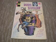 Boris Karloff Tales of Mystery #59 (1974) Whitman Comic