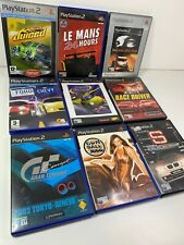 PS2 Playstation 2 Retro Bundle Racing Games x9 Gumball 3000 Juiced Le Mans 24hr