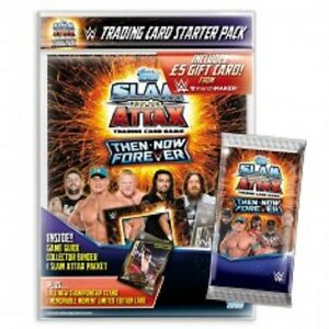 SLAM ATTAX THEN NOW FOREVER CHAMPION SIGNATURE CARDS 001 TO 064  CHOOSE BY TOPPS